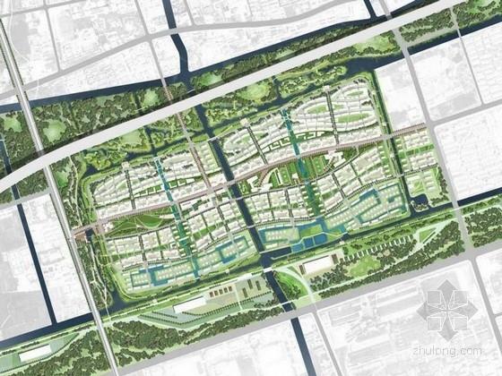 [上海]国际生态居住社区景观设计概念方案(著名景观公司)