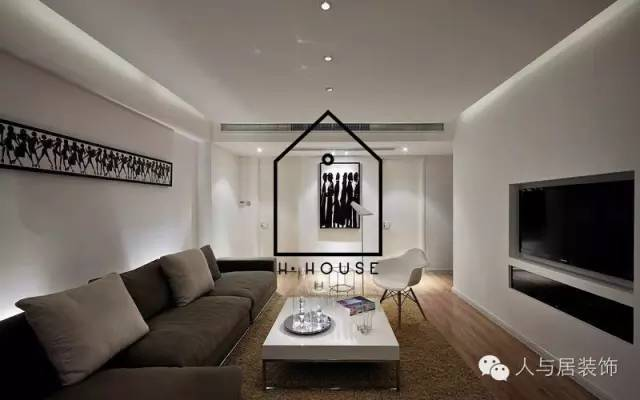 室内设计--黑白简约主义_6
