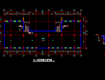 多层学生宿舍楼建筑技术平面图图纸