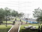 """[上海]""""璀璨星光""""低碳商务广场景观方案设计"""