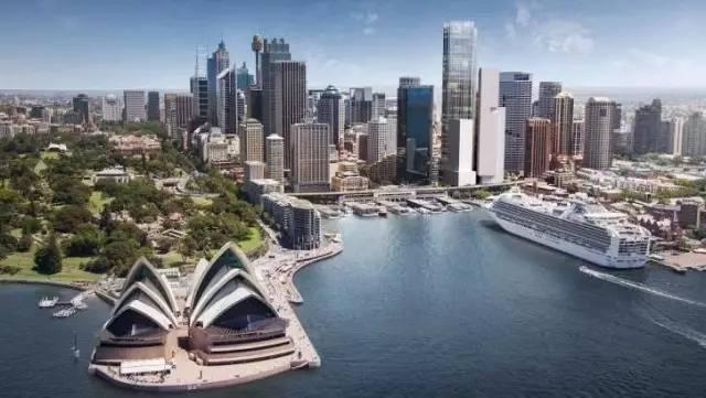 悉尼CBD环形码头重振计划,已成为建筑师们的新战场