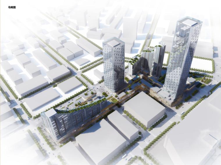 [深圳]超高层现代风格塔式商业综合体建筑设计方案文本