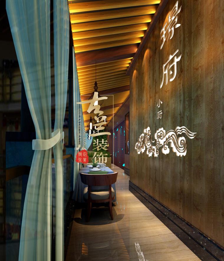 璟府小厨餐厅-成都主题餐厅设计-古兰装饰_15