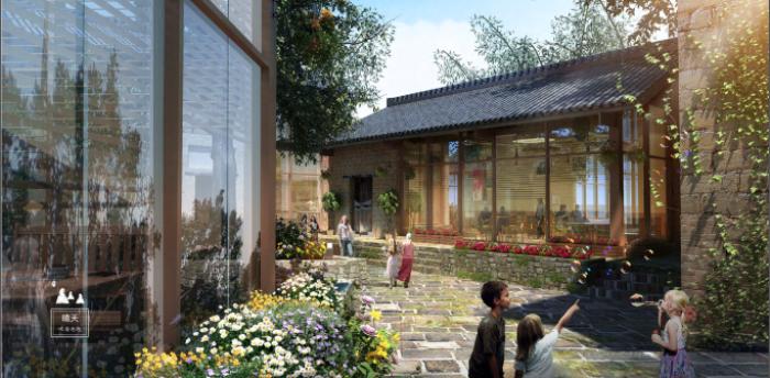 [广西]桂林风情古镇老街乡村景观设计方案(赠项目lumion动画)-效果图5