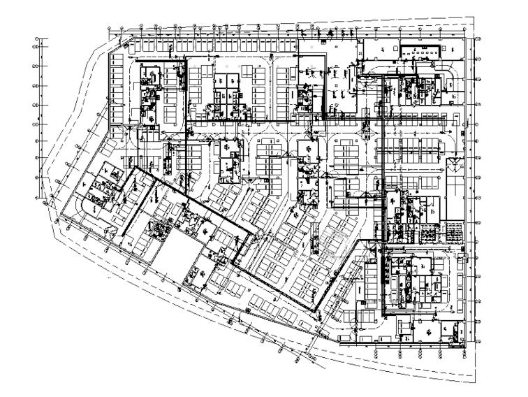 北京大型商业区强弱电智能化设计图