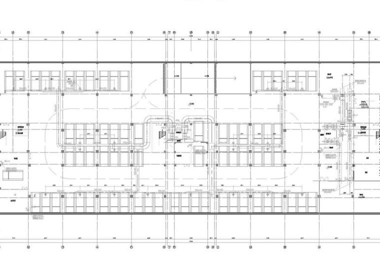 [江苏]高层福利院改造通风及防排烟系统设计施工图(含审图变更)