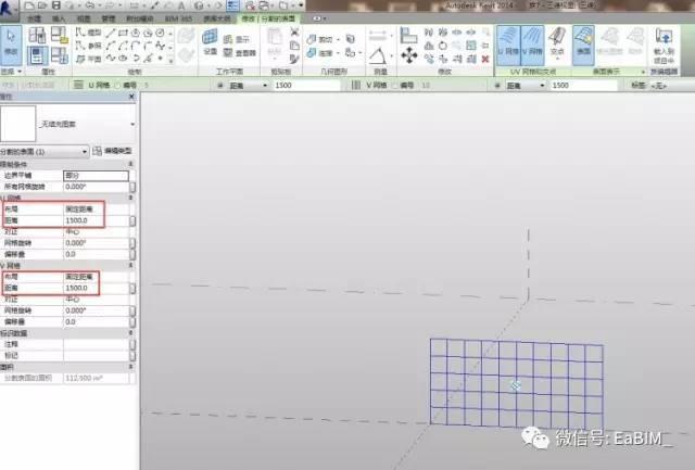 关于Revit幕墙填充图案的使用