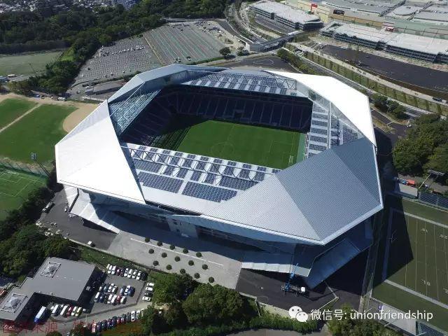 装配式建筑在公共建筑领域应用案例之——大阪钢巴足球场