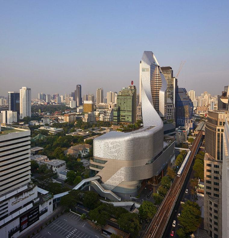 [建筑案例]曼谷商業綜合體