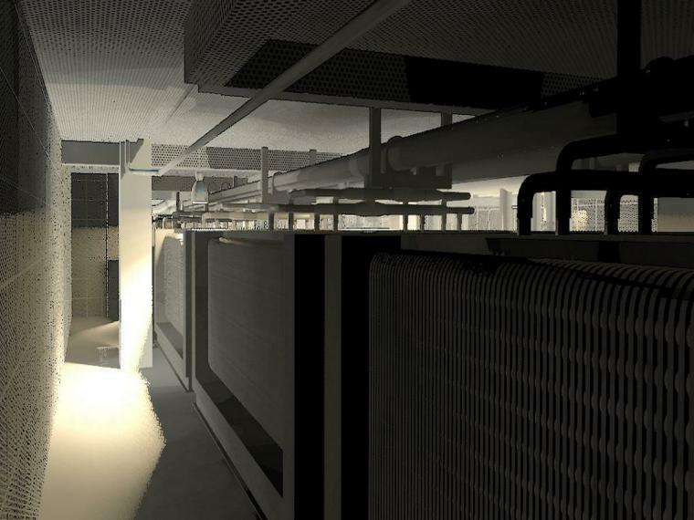 BIM模型-revit模型-机电房模型