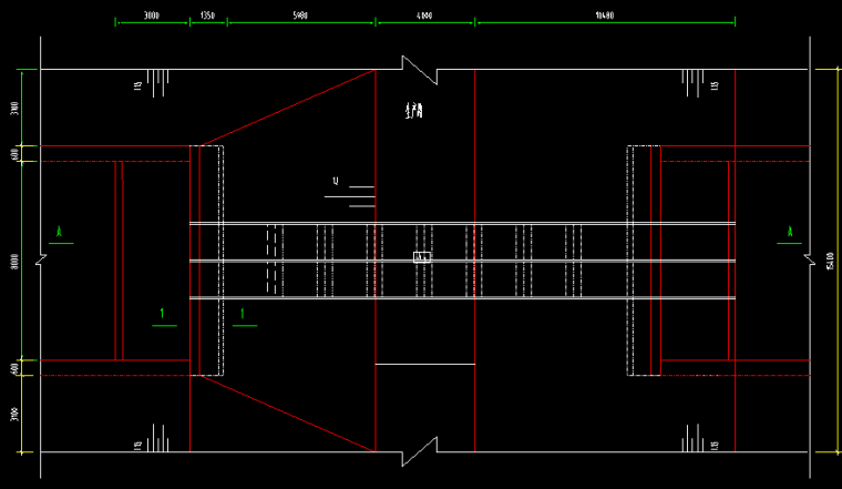 双孔深埋式预制砼管道涵洞设计详图