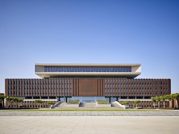 天津南开大学新校区图书馆及综合业务楼
