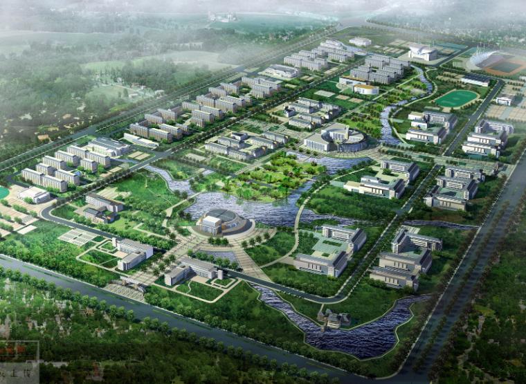 [安徽]安徽师范大学新校区总体规划设计方案文本