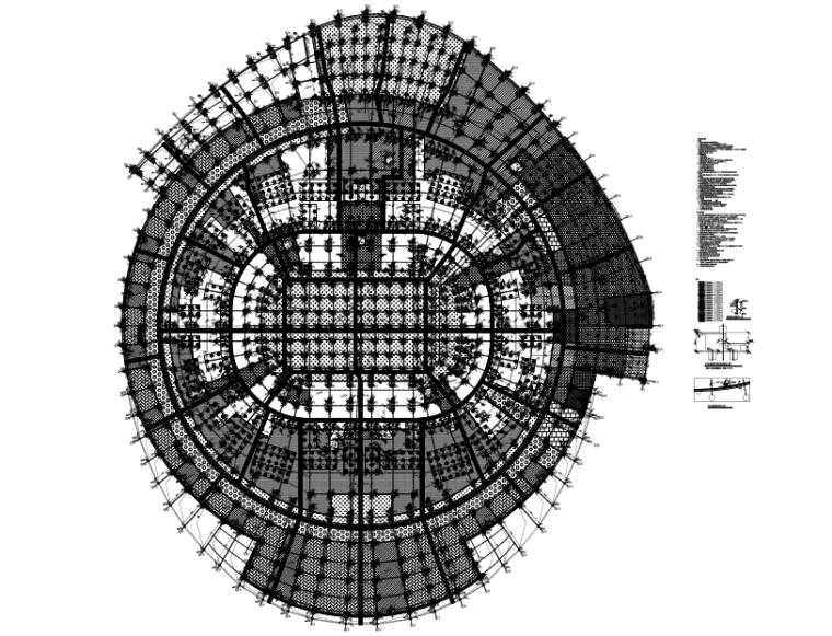 基础平面布置