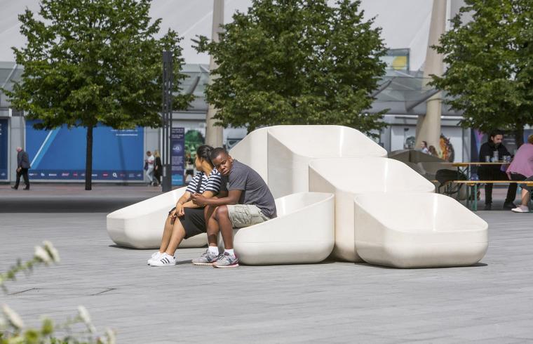 英国混凝土座椅装置