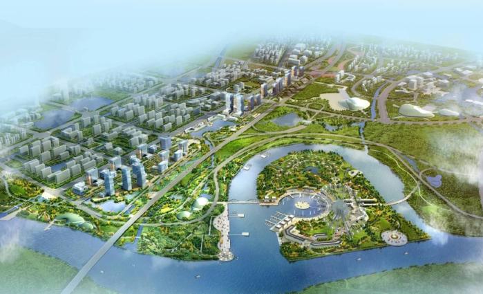 [江苏]扬州江都区沪陕高速门户区域城市设计方案文本
