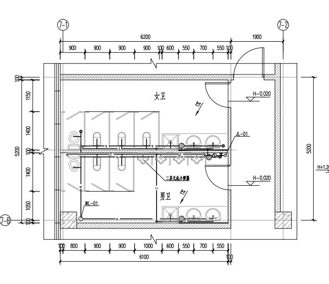 深圳市宝区某厂房给排水设计施工图(PDF)