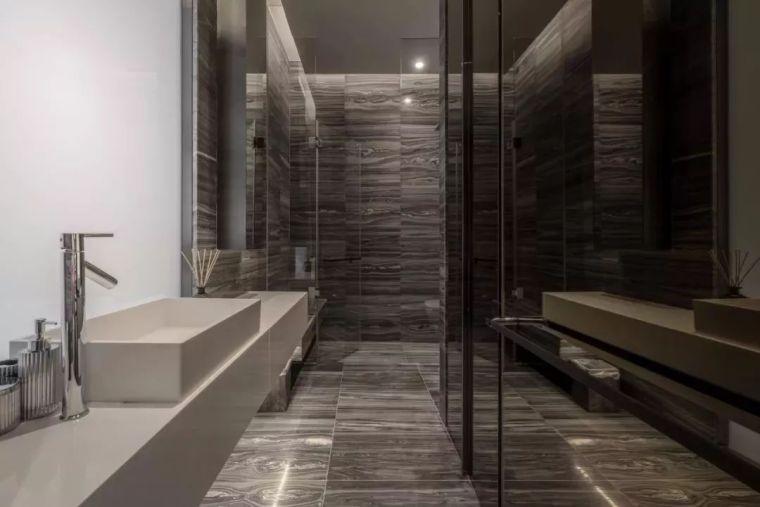 室内设计 130㎡的单身公寓,设计感十足_45