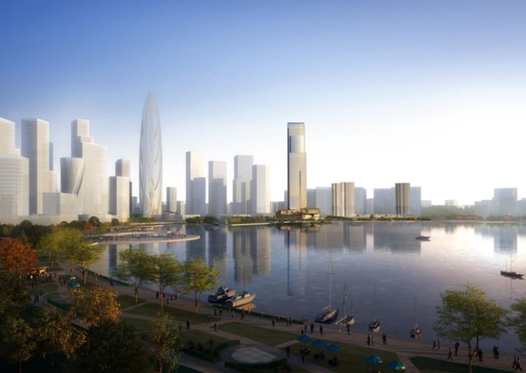 [湖南]国际总部中心二期商业综合体项目方案设计(含酒店、公寓)_9