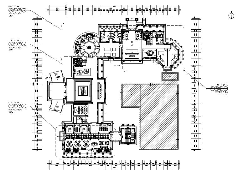 [广州]某售楼处设计全套CAD施工图
