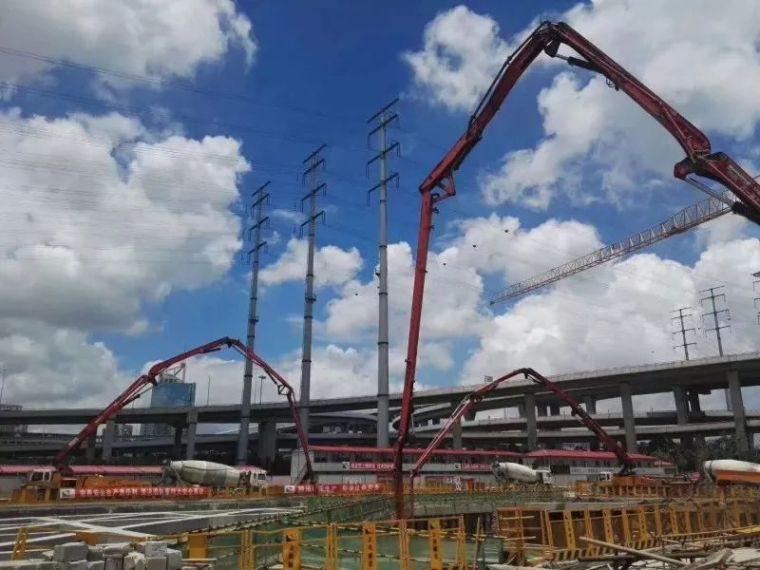 将25000方混凝土浇筑是如何做到的?