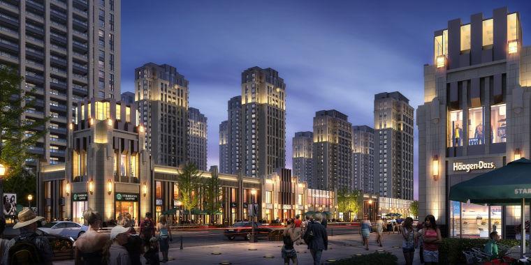[上海]奉贤南桥新城居住区建筑设计方案文本_7