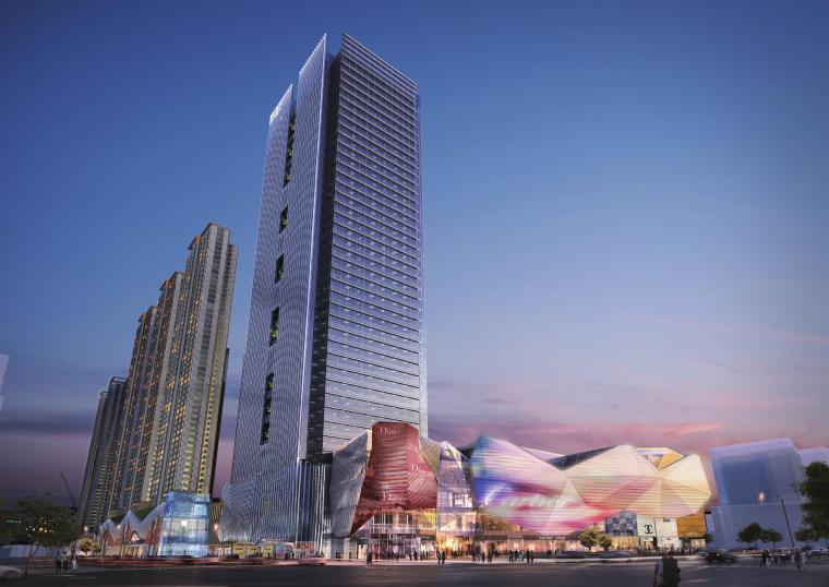 [深圳]西乡超高层商业综合体建筑设计方案文本_2