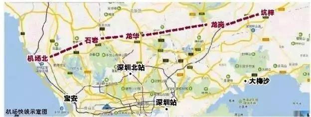 """深圳地铁16号线或将采用""""无人驾驶""""!龙岗去机场只要半个钟头.._6"""