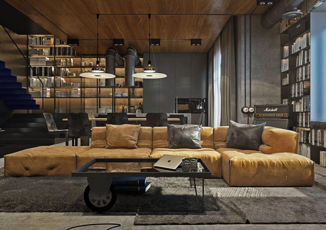 现在客厅都流行这么装,快扔掉你家笨重的大沙发吧!_3