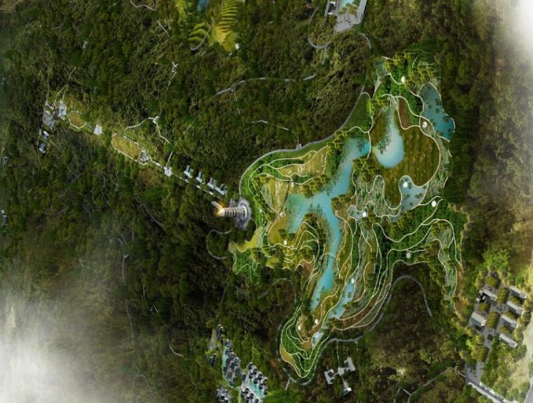[重庆]南岸区长生桥镇云浮山生态园区规划设计(PDF+43页)