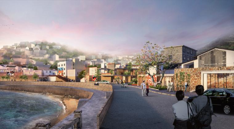 清沙木步行街改造建筑设计方案文本