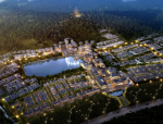 [陕西]西安秦岭新中式小镇项目概念规划(商业,酒店)