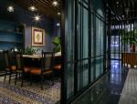 月影法式铁板烧餐饮空间设计方案文本