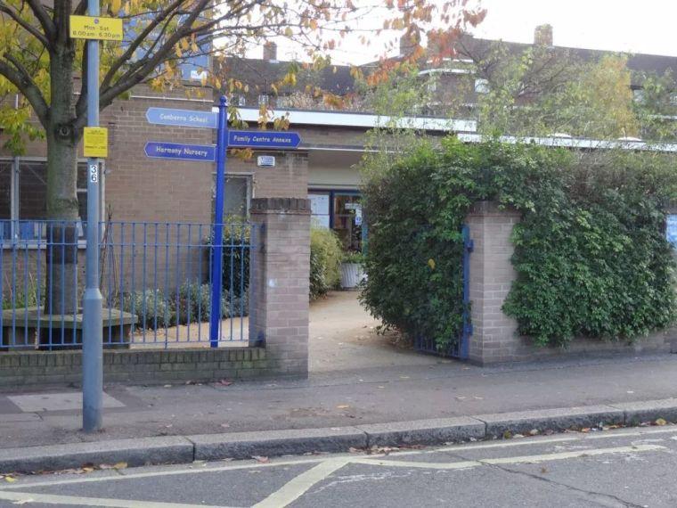 校园入口的空间改造