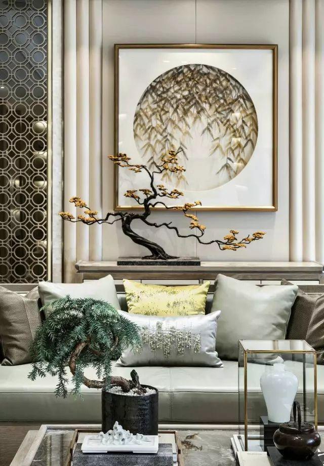 新中式客厅 · 犹如一股清风