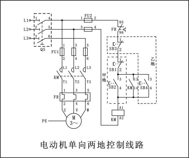电工必懂的7张电路图,全看懂的给你点个赞!_6