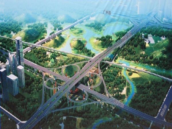 成都天府新区某立交桥实施性施工组织设计(共158页)