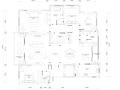 [江苏]常州国宾一号245㎡简约美式住宅设计施工图及效果图