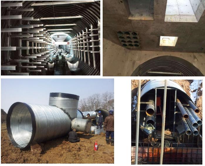 装配式钢结构城市地下综合管廊成套技术