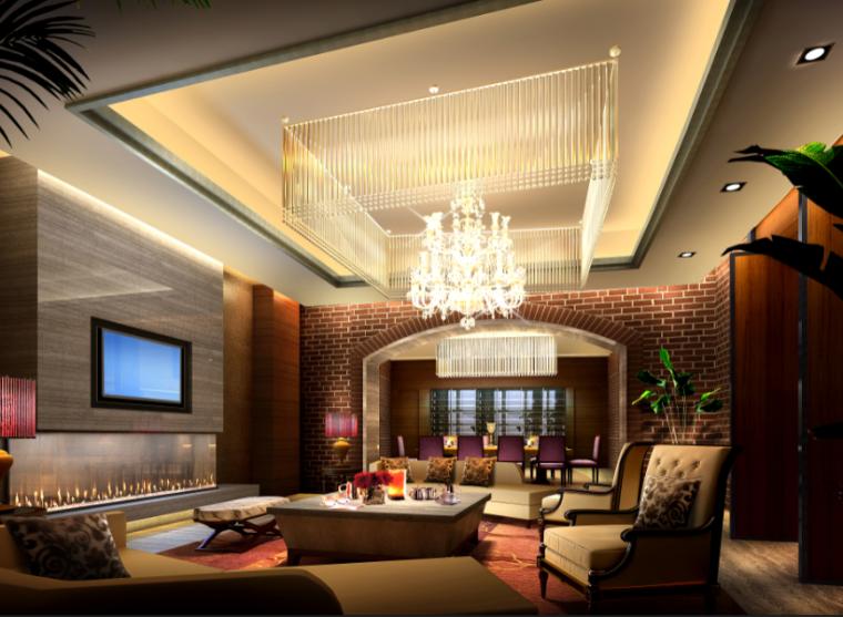 【海南】CCD-三亚国际酒店设计施工图(附效果图)_7