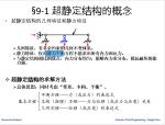 超静定结构的概念及超静定次数的确定