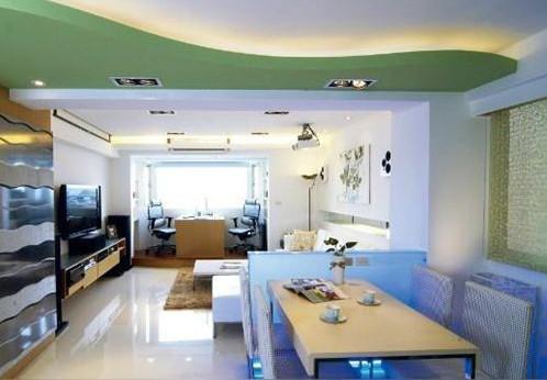家居悬吊式顶棚装饰工艺流程