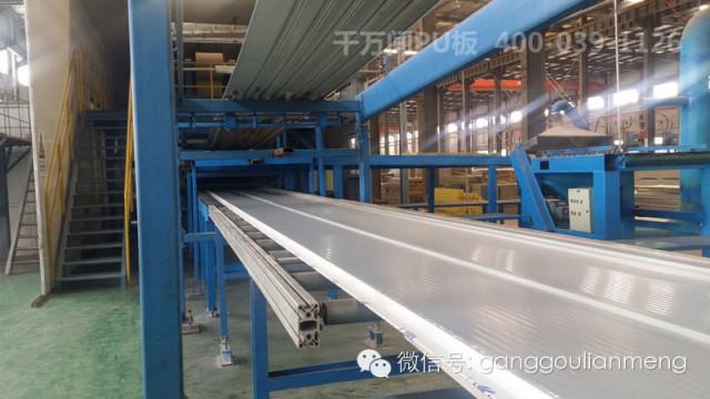 金属压型彩钢复合板的发展和应用