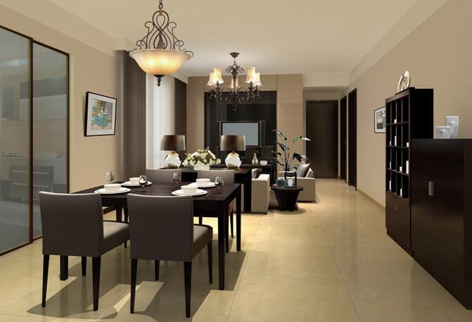 中式风格样板房装饰软装方案及效果图