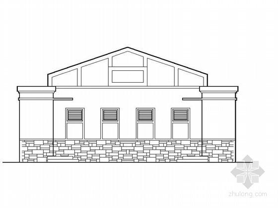 [合集]20套建筑小品——公厕建筑施工图及方案文本_22