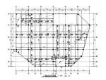 地上4层地下1层大型商场框架结构施工图(CAD、21张)