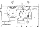 [云南]大理王宫别院样板间设计施工图(附效果图)