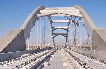 钢筋混凝土系杆拱桥的无支架施工