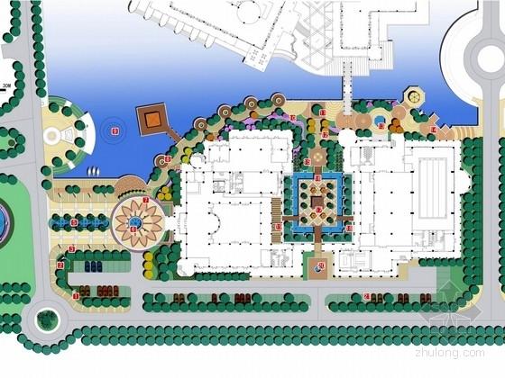[南京]滨江威尼斯异域风情酒店会所景观规划设计方案