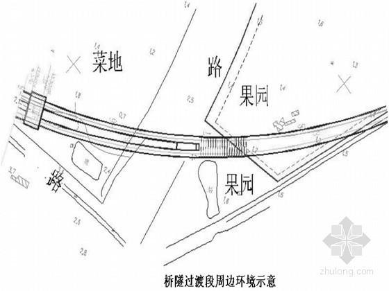 城际铁路桥隧过渡段U型槽深基坑施工组织设计(原创)